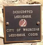 City of Waukesha Landmark #2